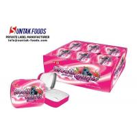 Wholesale Mix Berries Flavor Tin Box Candy , Sugarless Hard Sour Strawberry Candy from china suppliers