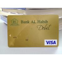 Wholesale Mini gold hologram visa smart card with hico magstripe bent resistant from china suppliers