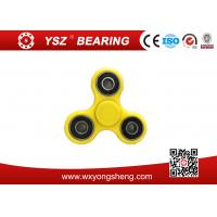 Wholesale Classroom / Home Tri - Spinner Fidgets Toy Plastic EDC Sensory Fidget Hand Spinner from china suppliers