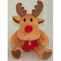 Wholesale Fashion Moose Plush Toy Coca Cola Christmas Reindeer Stuffed Animal from china suppliers