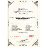 Chongqing Tongrui Filtration Equipment Manufacturing Co.,Ltd Certifications