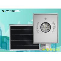 Wholesale Infrared Body Sensor 12 Watts Solar LED Street Light IP65 Parking Lot Lights from china suppliers