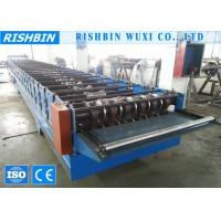 Wholesale Galvanized Steel Deck Roofing Sheet Roll Forming Machine with Chain Transmission from china suppliers