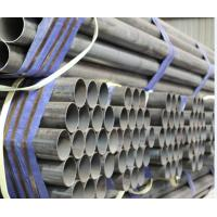 Wholesale ISO certificates Scaffolding Erw Black Steel Pipe API ASTM JIS EN ASI standard from china suppliers