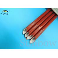 Wholesale Black Red Silicone Coated Fiberglass Sleeving Electrical Insulation Sleeving from china suppliers