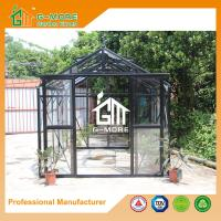 Wholesale 319X253X250CM Black Color Imperial Series Double Door Glasshouse from china suppliers