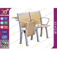 Buy cheap Wooden College Student Desk And Chair Set With Aluminum Frame from wholesalers
