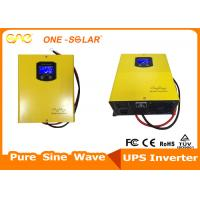Wholesale Wall Mounted solar power inverter built-in toroidal transformer and AC charger from china suppliers