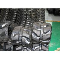 China 280 * 52.5 * 82 Black Replacement Rubber Tracks For Es25zteurocomach for sale