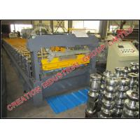 Buy cheap Pre coated Aluzinc Steel Inverted Box Rib Roof Panel Roll Forming Machine With Strong Structure from wholesalers