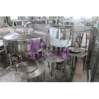 Wholesale Non - Carbonated Drink Automatic Filling Machine 1200bph Rotary 3 In 1 from china suppliers