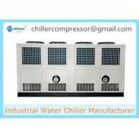 Wholesale 305kw Semi-hermetic Screw Compressor Air Cooled Water Chiller from china suppliers