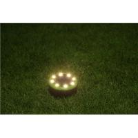 Wholesale 8leds IP65 waterproof solar power garden decorative lights in green with warm white led lighting from china suppliers