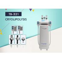 Wholesale 1800W Cryolipolysis Slimming Machine For Cellulite Removal , Vacuum Cavitation RF Fractional  Machine from china suppliers