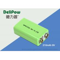 Wholesale Environmental Industrial Rechargeable Battery 9v 210mAh For Bicycle Headlight from china suppliers