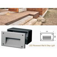 Wholesale Waterproof Outdoor Recessed LED Wall Lights , Decoration LED Step Light from china suppliers
