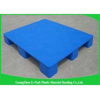 Wholesale Economica Cargo Nestable Plastic Pallets 9 Legs Export Blue 1200 * 1000mm from china suppliers