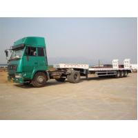 Wholesale CNHTC 3 Axle Low bed truck trailer advanced welded Tec  from china suppliers