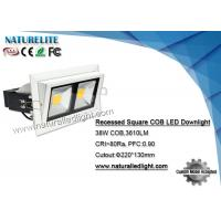 Wholesale 38W Square  Dimmable Led Down Lights  For House / Supermarket Lighting from china suppliers