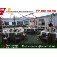 Wholesale Clear Span Tent Customized Exhibition Display marquee With European Standard Frame Structure from china suppliers