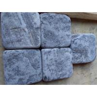 Wholesale Blue Quartzite Tumbled Paving Stone Square Plaza Walkway Patio Stones Natural Stone Pavers from china suppliers