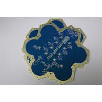 Wholesale Blue 30mil Rogers PCB 6 Layer High Frequency Circuits High Tg180 from china suppliers