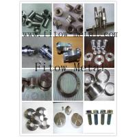 Wholesale Uns R56400 W.nr 3.7165 Grade 5 Precision custom Grade 5 Ti parts with your drawing from china suppliers
