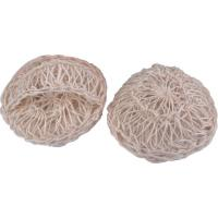 Wholesale 100% Natural Sisal Bath Scrubber Sponge Silkier Skin Bath Body Scrubber from china suppliers