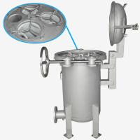 Wholesale BOCIN Stainless / Carbon Steel Bag Filter Housing , Quick Open Multi-bag Filter INOCO BF Serial from china suppliers