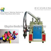 Wholesale Low Pressure Polyurethane Foam Machine For Soft Trinkets Making 380V / 220V from china suppliers