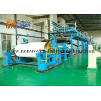 Wholesale Latex Bonding Airlaid Paper Products Making Machine Oil Heating Bule Color from china suppliers