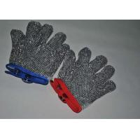Wholesale Cut Resistant 304 Stainless Steel Gloves Chainmail Mesh For Butcher , Size Custom from china suppliers