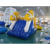 Wholesale Nimo Theme Aqua Run Inflatables / Water Obstacle Course Customized Shape from china suppliers