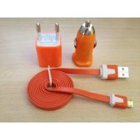 Wholesale Colorful USB Charger for iPhone with Flat Cable from china suppliers
