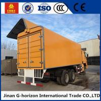 Quality Sinotruk HOWO Small Cargo Truck 6*4 Drive Left Hand Driving Wingspan Truck for sale