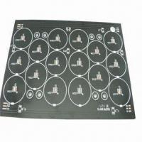 Wholesale Aluminum Base LED Lighting PCB with 1.5mm/1oz Thickness and Immersion Gold Finishing from china suppliers