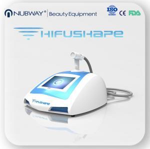 Wholesale Nubway HIFUSHAPE High Intensity Focused Ultrasound HIFU Slimming Machine from china suppliers