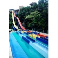 Wholesale Speed Fiberglass Water Slides Outdoor for Thrilling Water Playground Equipment from china suppliers