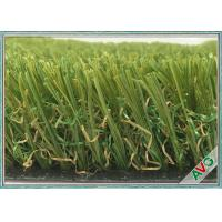 Wholesale Field Green V Shaped Garden Artificial Grass For Garden / Residential 35 mm Height from china suppliers