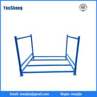Buy cheap Industrial Folding Frame Steel Stack Stillage Rack from wholesalers