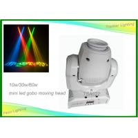 Wholesale Led Spot Moving Head Light 7 Colors 8 Gobos Led Mini Moving Head Manual With Zoom from china suppliers