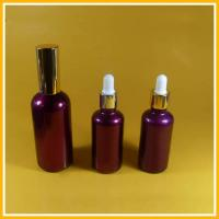 Buy cheap Fragrance Glass Essential Oil Bottles Electroplated With Tamper Evident Dropper from wholesalers