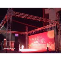 Quality Fixed Lightweight Trade Show Exhibit Truss Fireproof Hard Welding Easy Assembly for sale