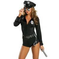 Buy cheap Halloween Sexy Police Costumes My Way Patrol Cop Costume for Party Adult from wholesalers