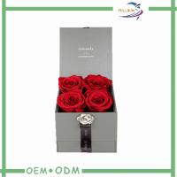 Wholesale Fresh Flower Box Never Fade Preserved Fresh Flower Delivery Box With 4 - 5cm from china suppliers