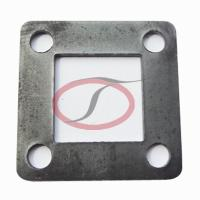 Buy cheap Square Steel Flange for Modular Art Fences from wholesalers