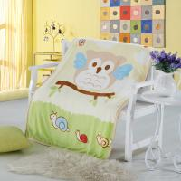 Pretty Anti Bacterial Non - Irritating Wool Newborn Baby Muslin Blanket