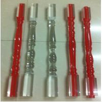 Wholesale Commercial Acrylic Banister Stainless Steel Acrylic Spindles For Stairs from china suppliers