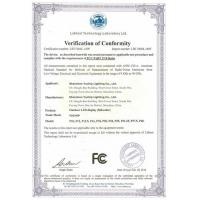 SHENZHEN YUCHIP LIGHTING CO., LTD Certifications
