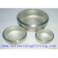 Wholesale A403 WP304 / 304L WP316 / 316L WP321 Stainless Steel Pipe Cap ISO9001 / ISO9000 from china suppliers